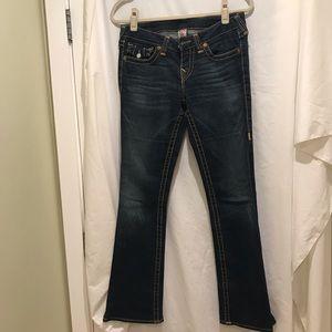 Women's true religion brand jeans pre-owned